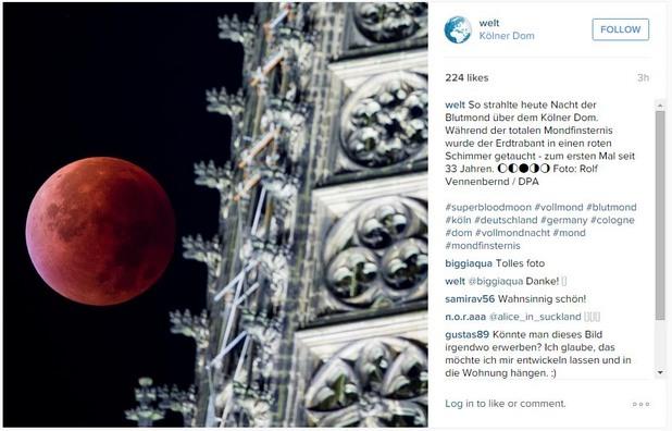 кървава луна - кьолн