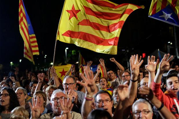 Абсолютно мнозинство за сепаратистите в Каталуния