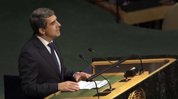 Росен Плевнелиев пред Общото събрание на ООН