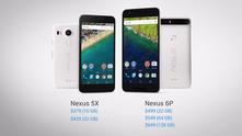 Цените на Nexus 6p и 5 X