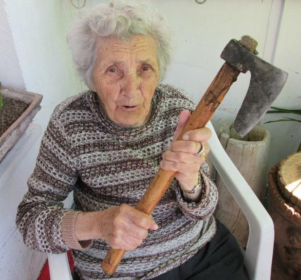 Българска баба в eBay