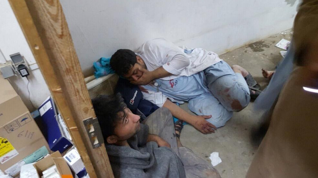 афганистан, кундуз, болница