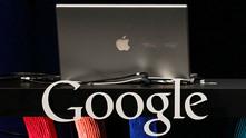 apple, google
