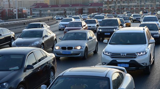 Задръстване в Пекин