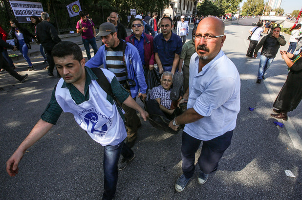 атентатът в анкара