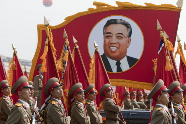 военен парад в пхенян