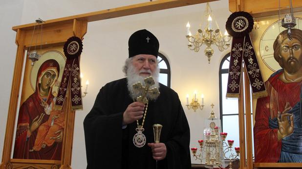 Негово Светейшество Българският патриарх и Софийски митрополит Неофит.