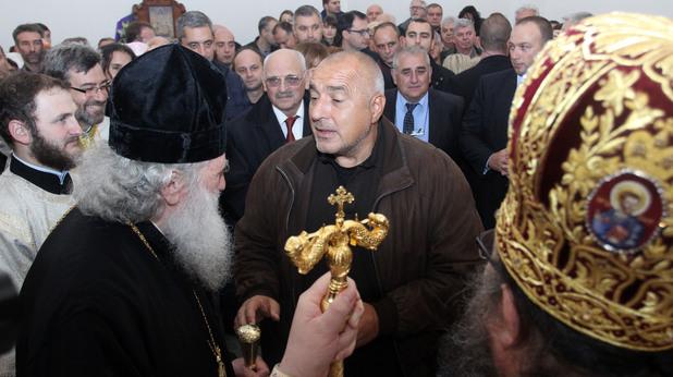 "освещаването на новопостроения православен храм ""Успение Богородично"" в столичния квартал ""Владая"""