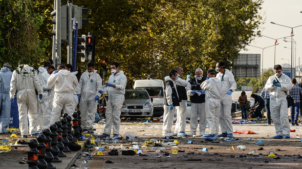 Анкара след атентата