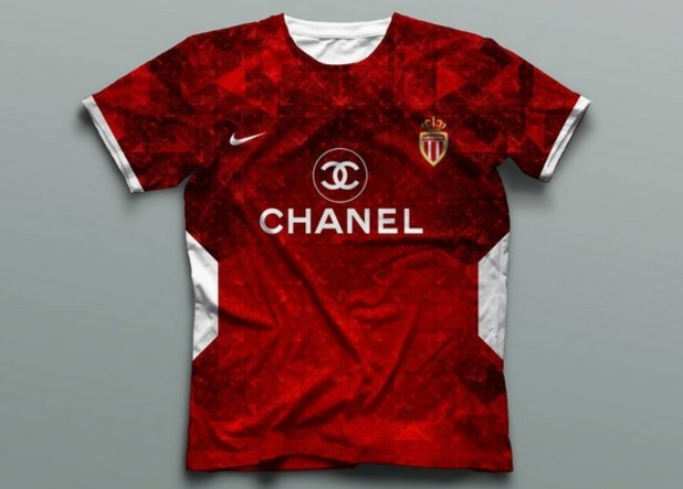 монако, футболни фланелки, модни фланелки