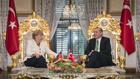 ангела меркел и реджеп тайип ердоган в истанбул