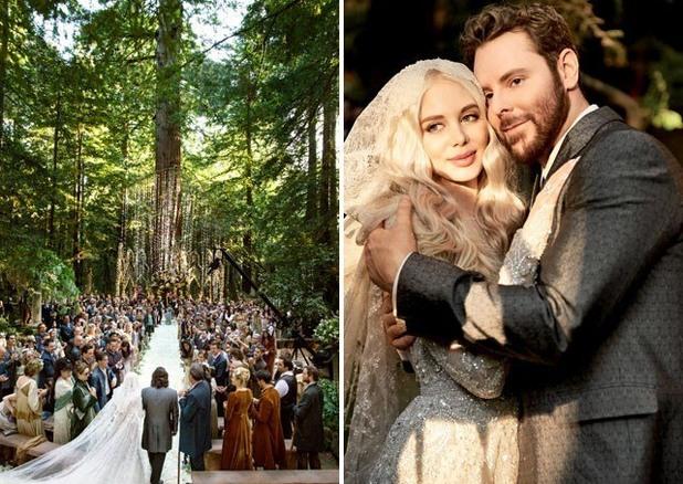 Шон Паркър - сватба