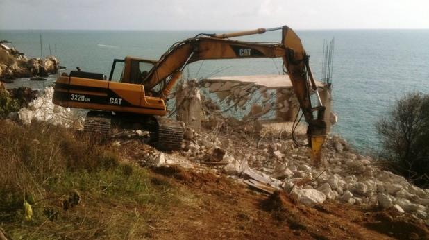 Яйлата, строеж на братя Павлови - разрушен