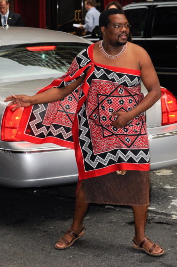 крал мсвати iii на свазиленд