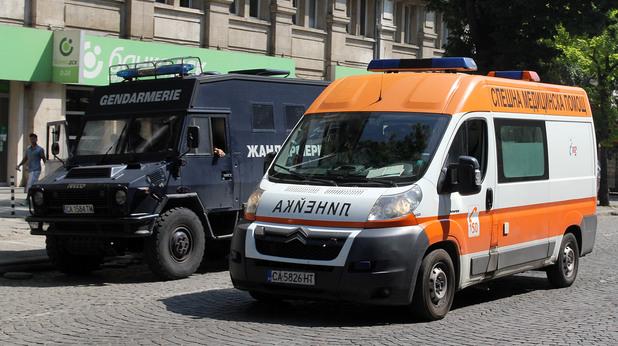 Жандармерия и линейка