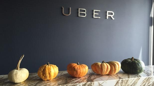 Uber ще доставя тикви в София