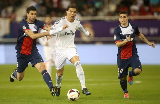 ПСЖ - Реал (Мадрид) 0:1, контрола 2014 г.