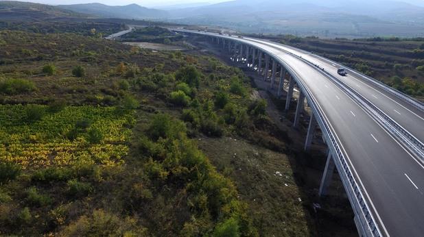 """По ОП """"Транспорт"""" завърши изграждането на участъка Дупница - Благоевград от АМ """"Струма"""""""