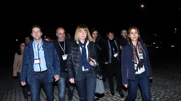 йорданка фандъкова в изборната нощ