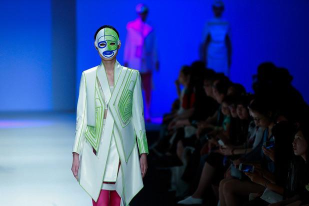 китайска седмица на модата - студенти