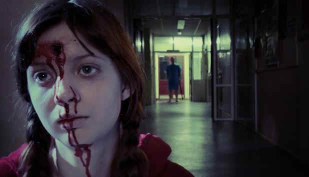кървави сцени, филми на ужасите