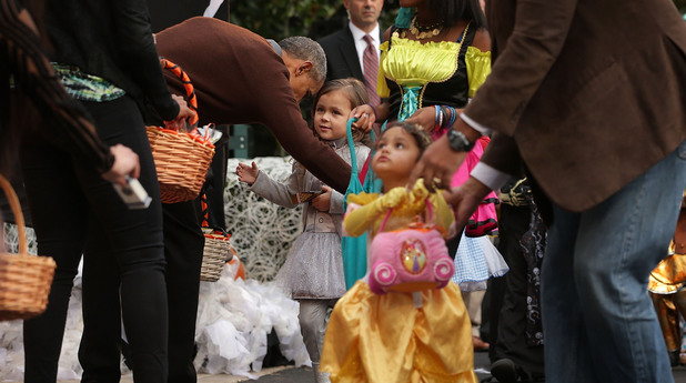 Halloween, White House,