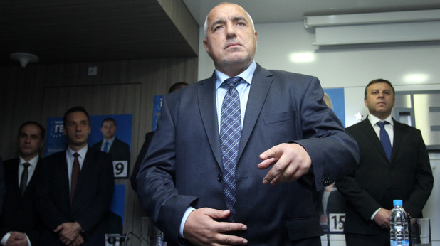 Местни избори 2015 балотаж - Бойко Борисов - пресконференция ГЕРБ