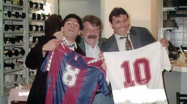 Стоичков и Марадона