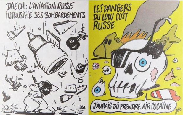 Charlie Hebdo възмути Кремъл заради сваления A321