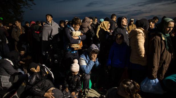 Бежанци в Македония