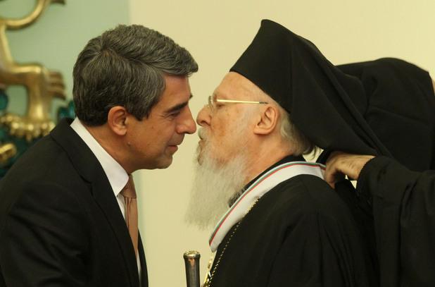 вселенският патриарх вартоломей i получава орден стара планина