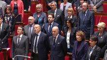 френският парламент пее марсилезата
