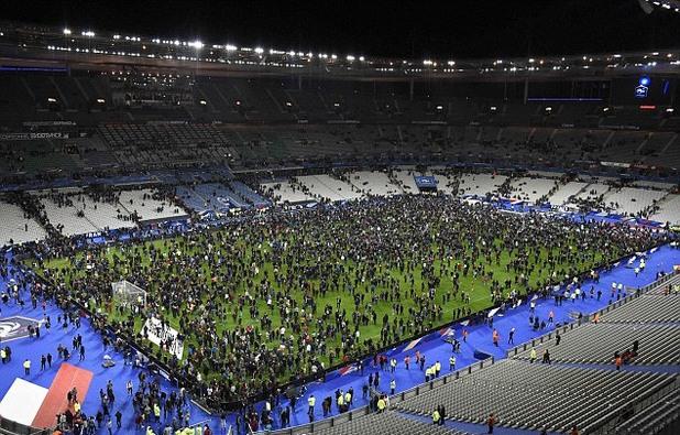 Стад дьо Франс, атентати