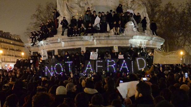 Not Afraid - Париж след Шарли Ебдо