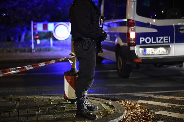 полиция в хановер преди мача германия-холандия