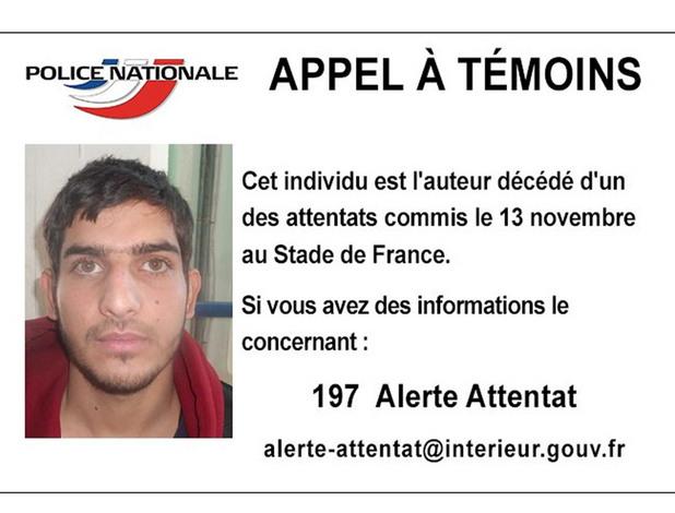 Атентаторът със сирийски паспорт