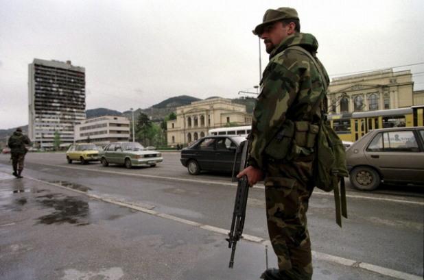 Полиция в Сараево