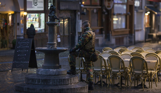 Антитерористична операция в Белгия