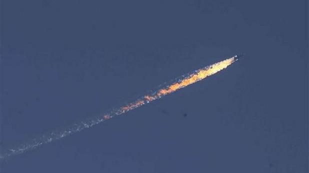 турция свали руски бомбардировач су-24