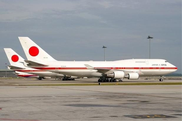 правителствени самолети, Boeing 747-400, Япония