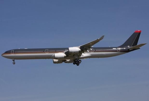 правителствени самолети, Airbus A340-600, Йордания