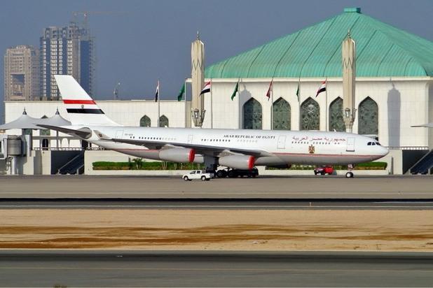 Airbus A340-200, Египет
