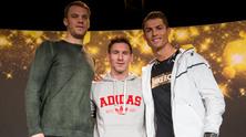 Нойер, Меси и Роналдо