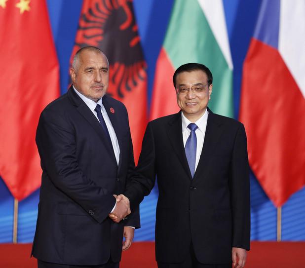 бойко борисов и премиерът на китай ли къциян