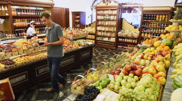супермаркет в русия