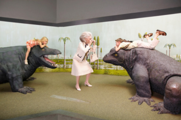 баба в музей