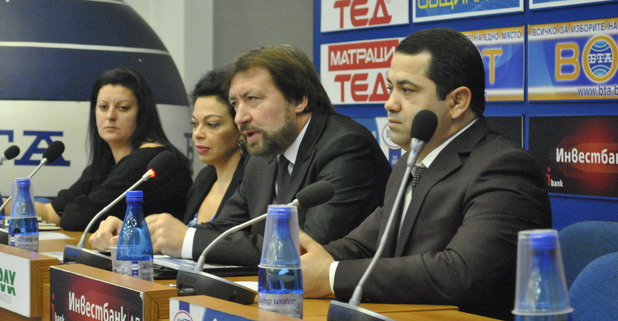 Евгения Банева и Николай Банев - пресконференция БТА
