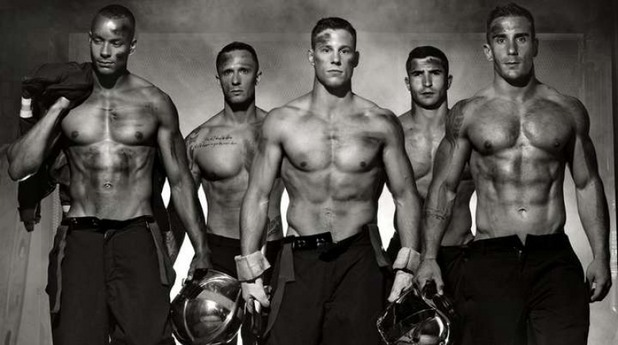горещи пожарникари