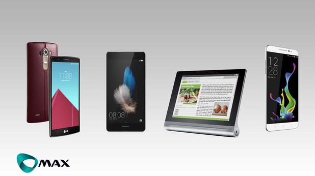 Макс пуска в продажба LG G4 Dual и редица други атрактивни смартфони и таблети
