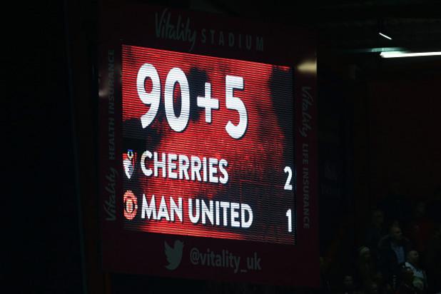 Борнемут - Юнайтед 2:1